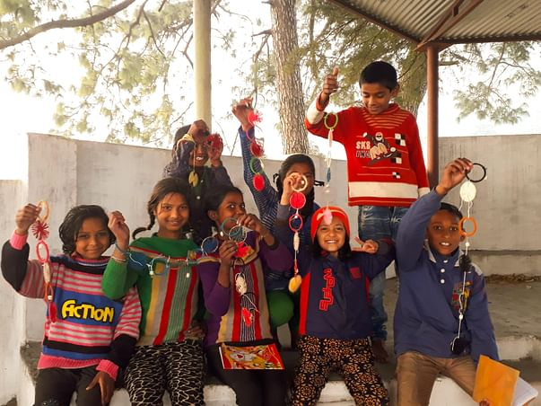 Support Village Children To Develop Skills For A Brighter Future