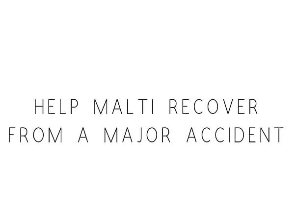 Help Malti Recover From A Major Accident