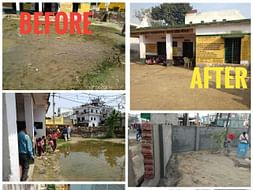 Repair of a Govt Primary School in Meerut