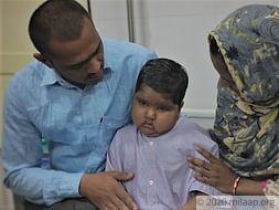 Suhana Shaikh needs your help to fight disease