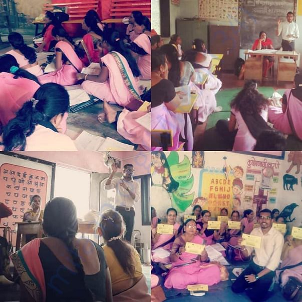 Awareness session with the Aanganwadi Teachers