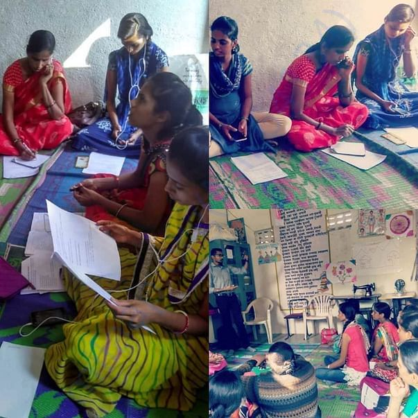 Helpline Team members in action