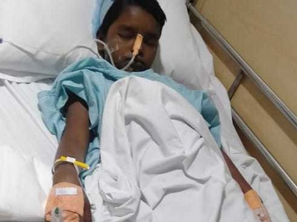 Help Kavya Sri Fight Spleen Problem