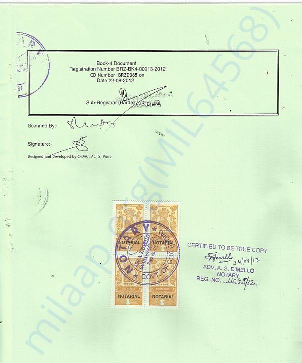 WAG Trust Certificate