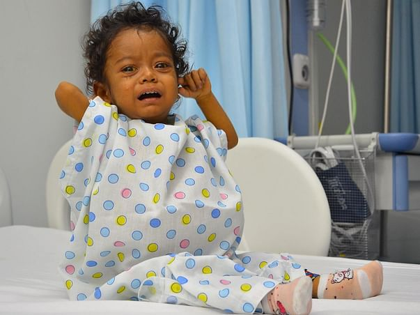 This 1-Year-Old's Life Depends On A Liver Transplant, You Can Help Him