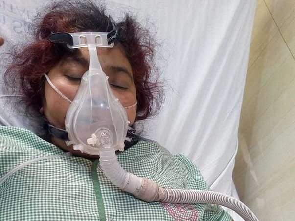 Help! Radha to recover from lung failure and join her family back.