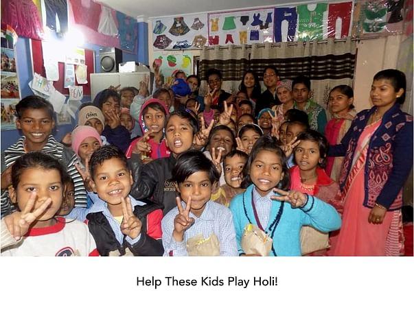 Help These Kids Play Holi!
