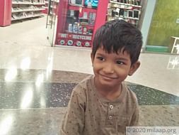 Samarth needs your help to undergo his treatment