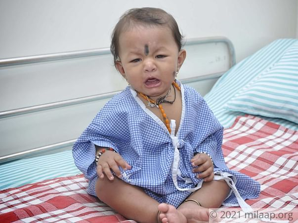 Tailor Struggles To Save 9-Month-Old Baby Girl On Rs. 40/day