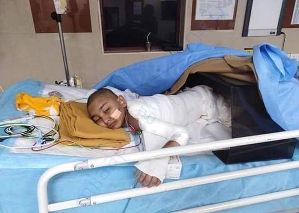 Rafana in Hospital