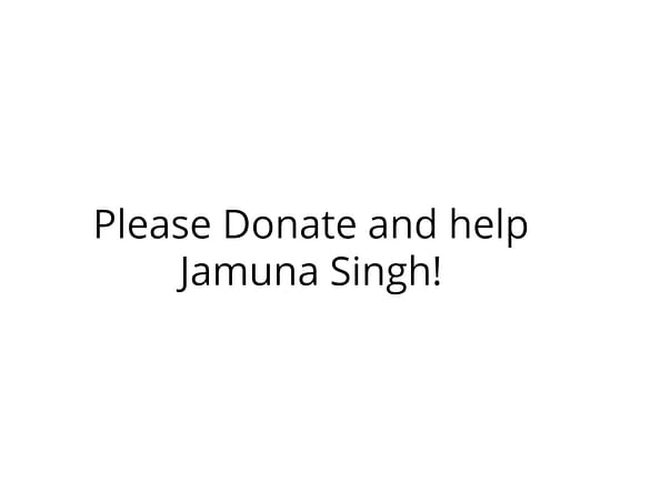 Medical Treatment for Burned patient  Jamuna Singh