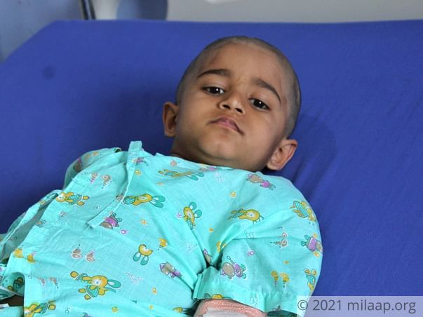 Cancer Has Separated This Little Boy From His Mother, Needs Your Help