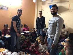 FOOD AND BLANKETS FOR POOR PEOPLE