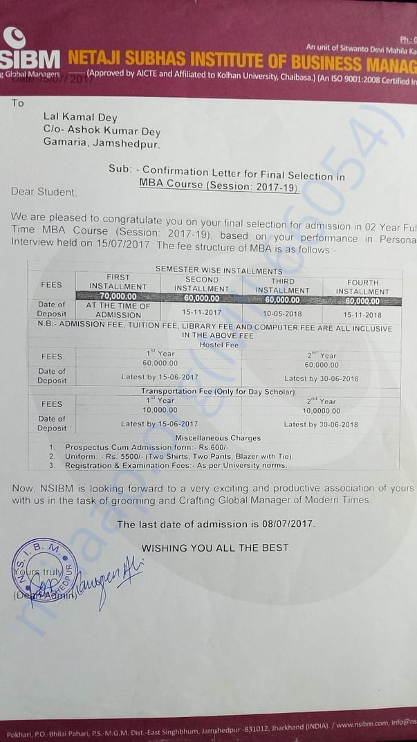 This is my document of salary structure of MBA