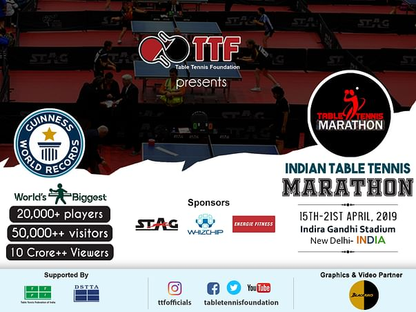 Indian Table Tennis Marathon 2019