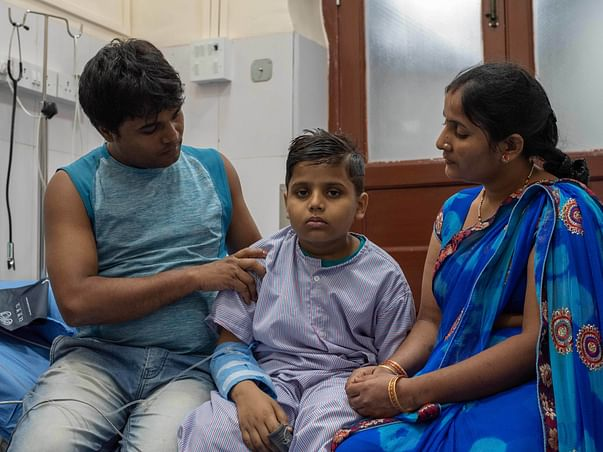 Kundan Saroj needs your help to fight disease