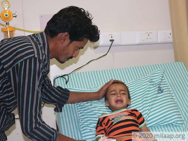 Baby Mohammed Rihan needs your help to undergo his treatment