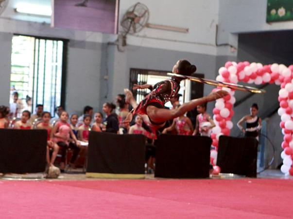 Help Sanyukta Represent India In Rhythmic Gymnast