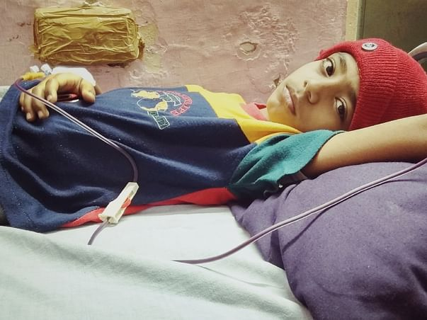 Help 8 Year Old Ayan Fight Thalassemia