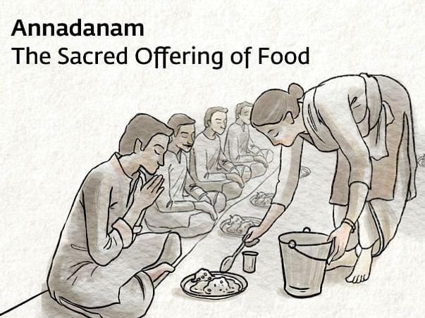 Annadanam - Mahashivaratri @Isha Yoga Center, Coimbatore
