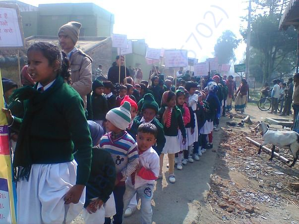 JAGRUKTA RALLY ON BETI BACHAO, BETI PADHAO