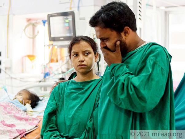 Sampurna Das needs your help to undergo treatment