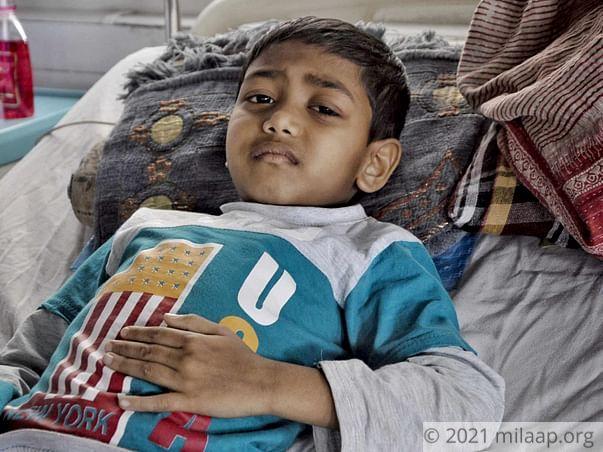 Help Aldin Hussain to fight disease