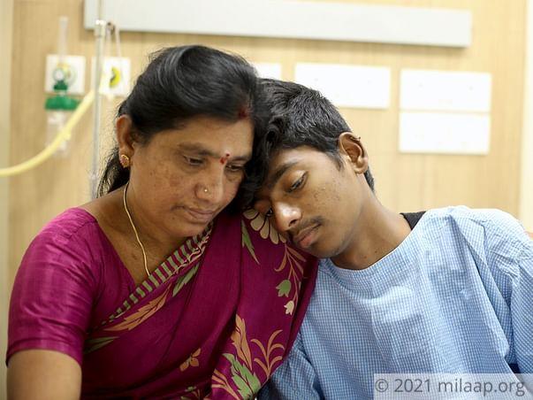Help Ganesh Yarlagadda to fight disease