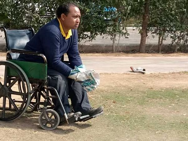 Help Heera Lal Participate In Paralympic Cricket