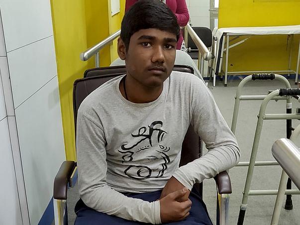 Help Suraj Walk Again