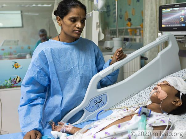 Baby Shravani needs your support to survive