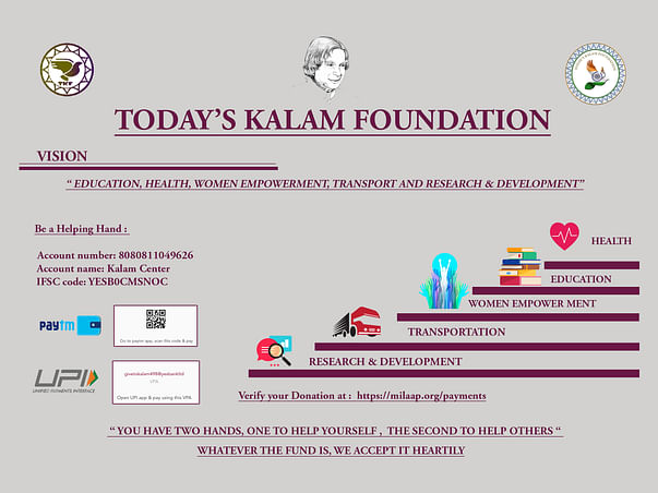 Be a Helping Hand for  One Kalam Center and Benefit 25 slum Kids