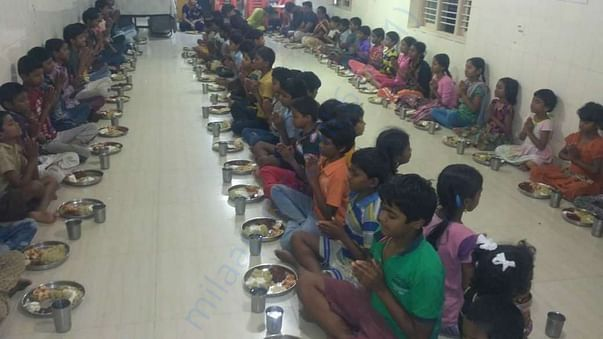 Feed Hungry and educate the needy