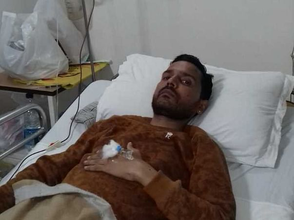 Save Deepak fight hematuria blood disorder and 90% intestine removed