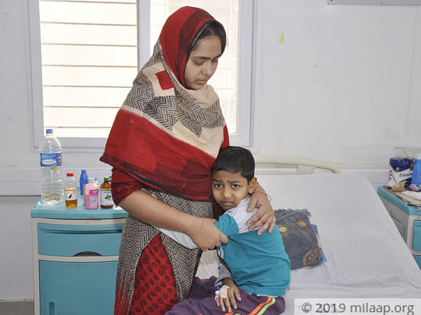 With Rs.1700, They Travelled 2000 Kms To Save Their Son From Cancer