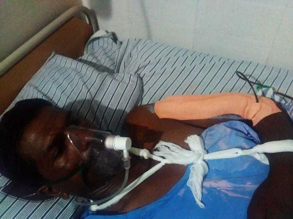 Help hand-to-mouth farmer to stand up fm accident #GiveNewLife