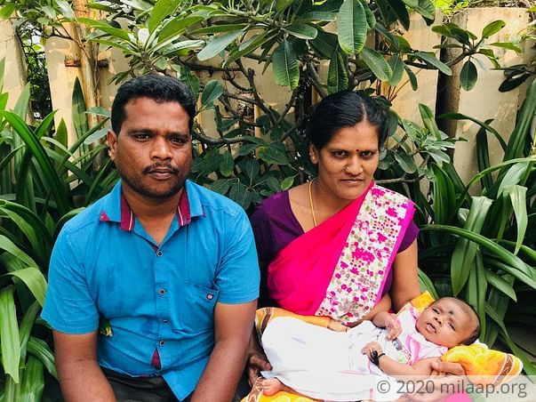 Karthick needs your help to fight disease