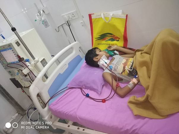 Help Our Manav, 12 year old child for Kidney Transplant