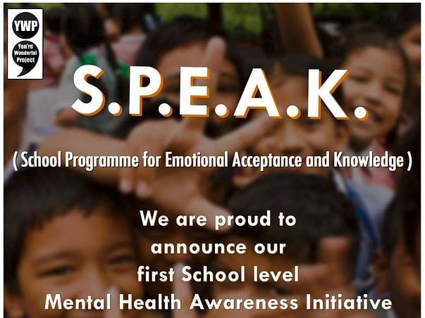 Mental Health sensitivity in School Children for a happier future!