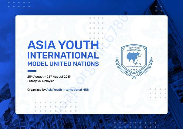 Proposal of Asia Youth International Model United Nation 2019