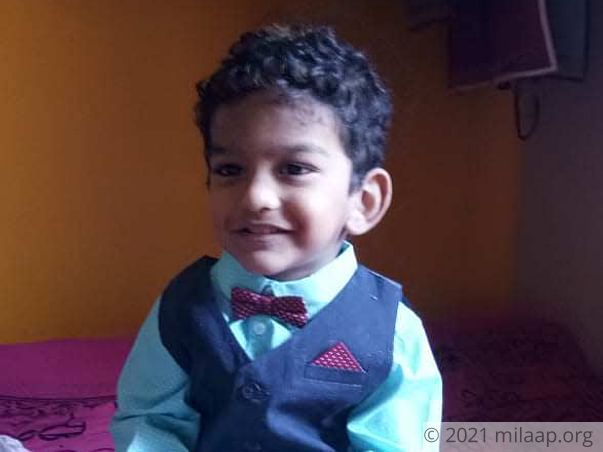 Help Shriyansh to undergo his treatment