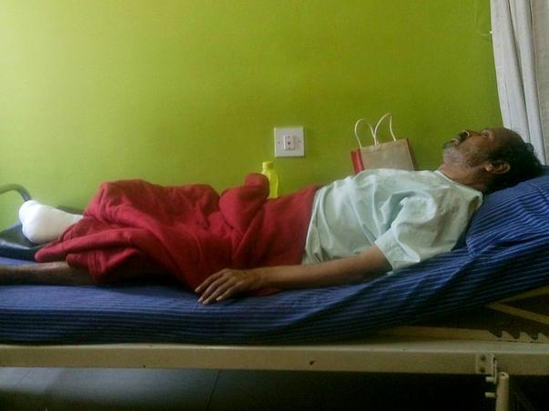 Help My Father Somashekara For Gangrene Treatment