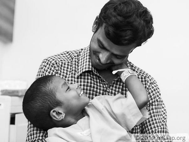 Without Help, This Father May Be Forced To Watch His Son Die
