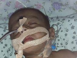 Help 6 Month Old Bikshapathi Fight with Pneumonia