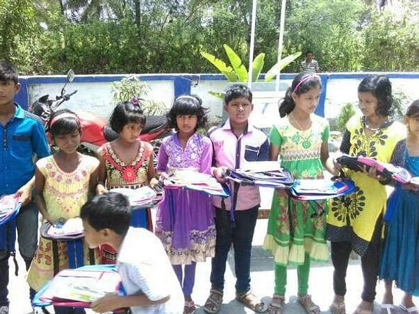 Fundraising For Tribal village Student's Education