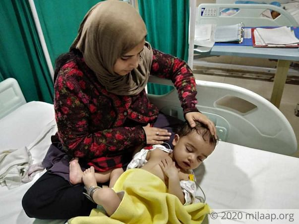 Help Azmat Ali Khan to fight  Congenital Heart Disease