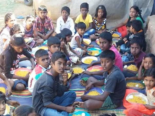 Help These Children Eat and Stay Healthy