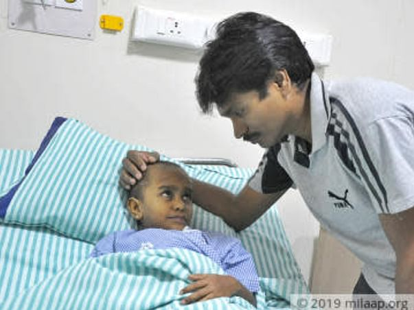 Airtel Sales Exec Struggles To Save His 6-year-old From Cancer Relapse