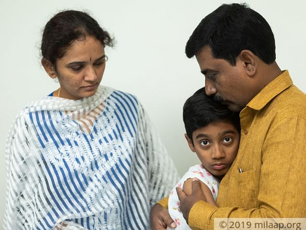 Milaap Donor Appeals For Help To Save His Son From A Dangerous Disease