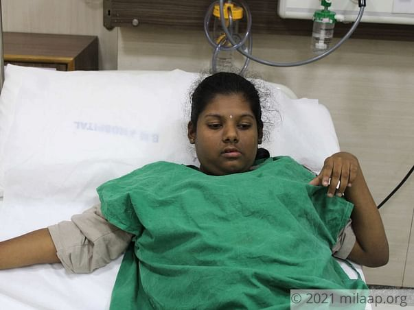 Meghana needs your help to  fight disease